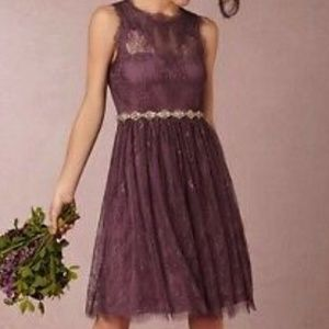 Anthropologie Dresses - BHLDN Hitherto Celia dress in Antique Orchid - sz8